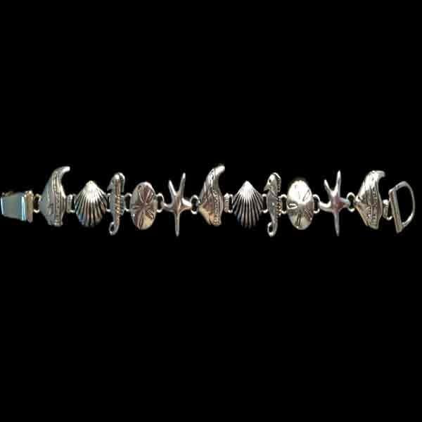 Sea life with Seahorse Bracelet - B4b