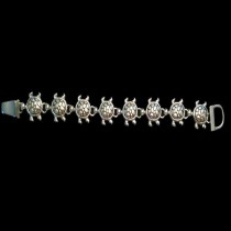 Silver Turtle Bracelet - B3s